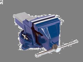 Тиски верстачные литые металлические поворотные